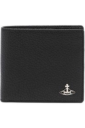 Vivienne Westwood Purses & Wallets - Orb-plaque leather wallet