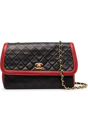 Chanel Pre-Owned 1990s CC diamond-quilted shoulder bag