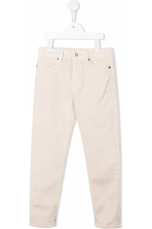 Dondup Mid-rise straight-leg jeans - Neutrals