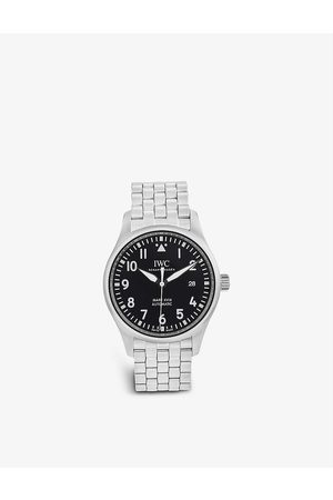 Bucherer Certified PRE Owned Pre-loved IWC Schaffhausen IW327011 Pilot Mark XVIII stainless-steel automatic watch
