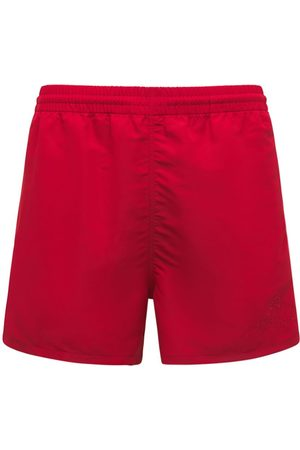 Balenciaga Logo Nylon Swim Shorts