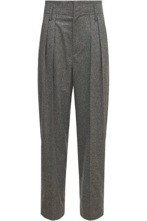 Isabel Marant Women Trousers - Nilaga High Waist Viscose Blend Pants