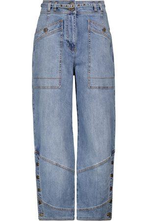 ULLA JOHNSON Harris high-rise stretch-cotton jeans