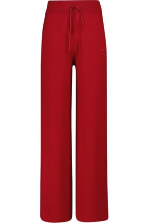 Max Mara Giove wide-leg wool sweatpants