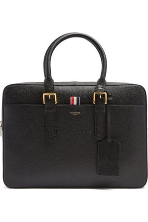 Thom Browne Pebbled-leather Briefcase - Mens