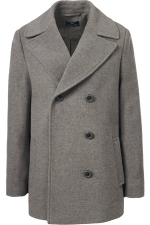 Peter Hahn Pea coat in 100% new milled wool size: 10