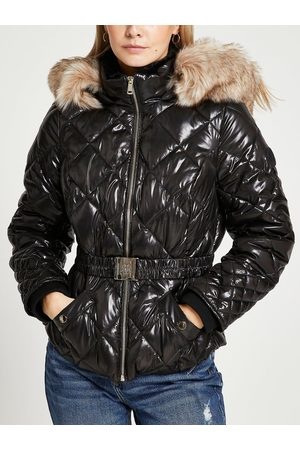River Island Petite Belted Padded Jacket