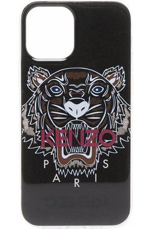 Kenzo Men Phones - Tiger logo-print iPhone 11 Pro case