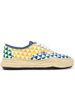 Maison Mihara Yasuhiro Trainers - Baker geometric-print sneakers