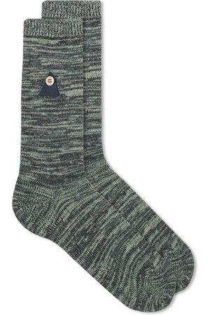 Folk Men Socks - Melange Sock
