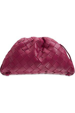 Bottega Veneta The Mini Intreccio Leather Pouch