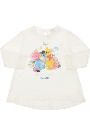 MONNALISA Winnie The Pooh Cotton Jersey T-shirt