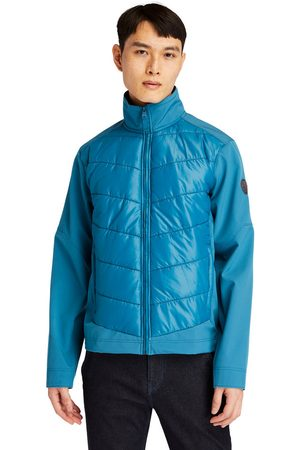 Timberland Soft-shell hybrid jacket for men in teal teal, size l