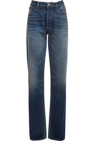 The Attico Cotton Boyfriend Jeans