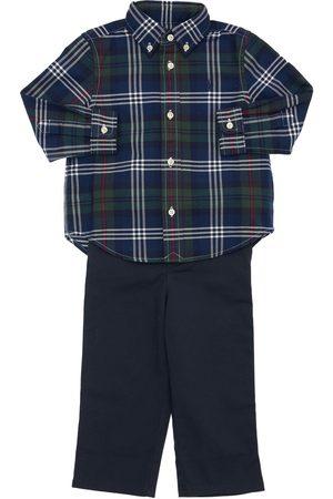 RALPH LAUREN Oxford Cotton Shirt & Pants