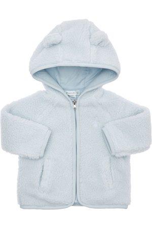 Ralph Lauren Hooded Faux Fur Zip-up Jacket