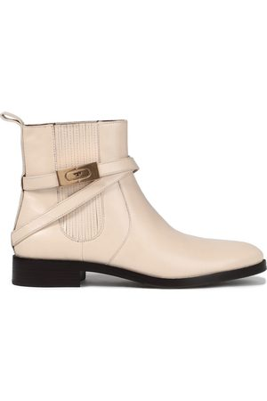 TORY BURCH Women Ankle Boots - Woman Leather Ankle Boots Size 10