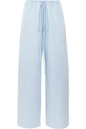 Bondi Born Woman Woven Pants Sky Size M
