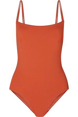 Bondi Born Women Swimsuits - Woman + Net Sustain Sadie Tie-detailed Swimsuit Size 10