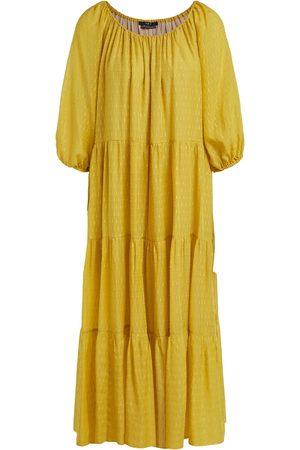 Set Fashion Set Glitter maxi dress Geel 72728 5010403 2358