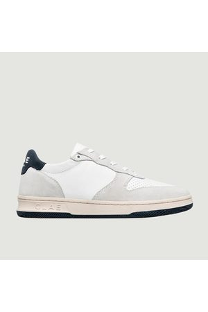 Clae Malone Sneakers LEATHER NAVY