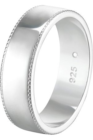 The Love Silver Collection Sterling Milgrain Edge 6Mm Court Wedding Band Ring