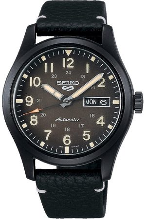 Seiko 5 Sports - Field Collection Leather Men'S Watch