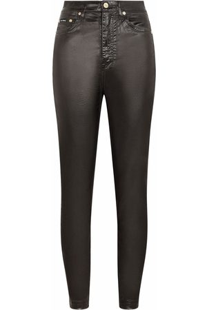 Dolce & Gabbana Coated skinny trousers