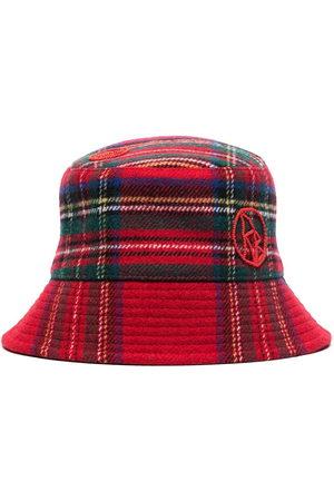 Ruslan Baginskiy Lampshade tartan bucket hat