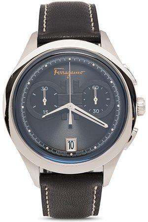 Salvatore Ferragamo Gancini chronograph quartz 42mm
