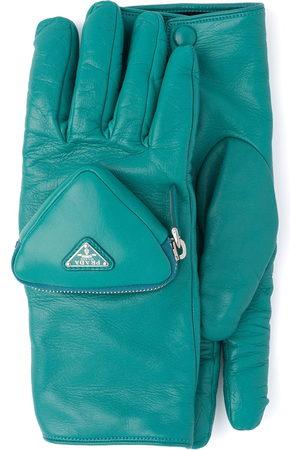 Prada Zipped pouch short gloves
