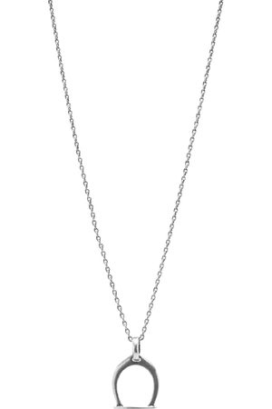 Saint Laurent Charm Pendant Necklace