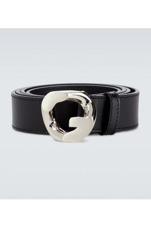 Givenchy Men Belts - G Chain leather belt