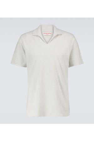 Orlebar Brown Hugh toweling cotton polo shirt