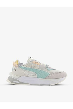 Puma Mirage Sport suede and mesh trainers