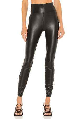 PAIGE Sheena Vegan Leather Legging in . Size M, S, XS.