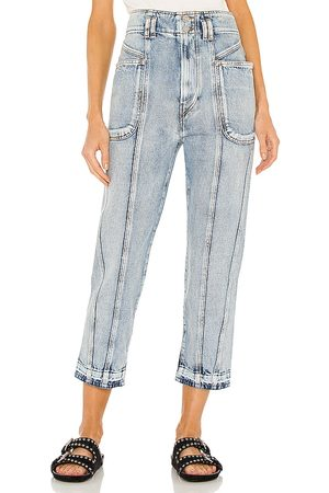 Isabel Marant Tuscon Tapered Jean in . Size 36/4, 38/6, 40/8.