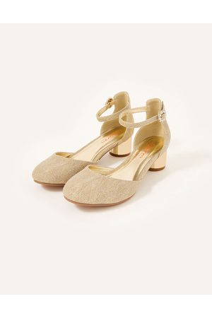 Monsoon Shimmer Two-Part Heel Shoes , in Size: 1