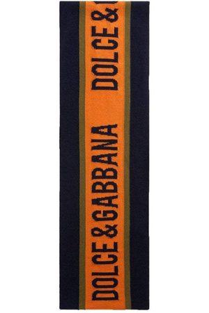 Dolce & Gabbana Kids Wool Scarf Navy, NAVY / LARGE