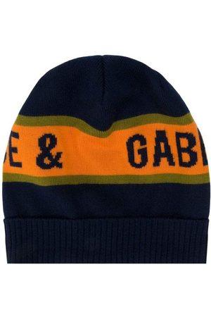 Dolce & Gabbana Kids Wool Hat Navy