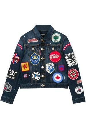 Dsquared2 Kids Denim Badge Jacket