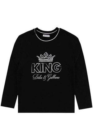 Dolce & Gabbana Kids King T-shirt , / 10 YEARS