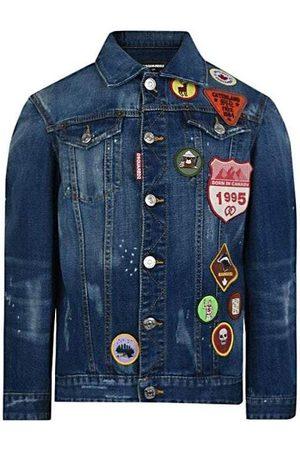 Dsquared2 Boys Denim Jackets - Kids Denim Jacket , / 10 YEARS