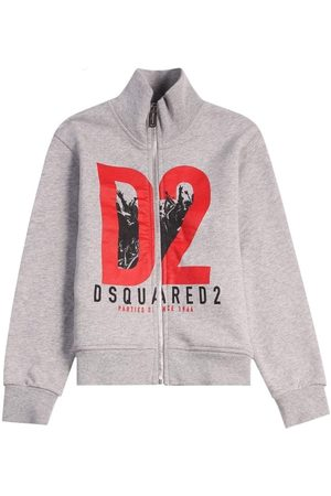 Dsquared2 Kids Zipped Turtle Neck , / 8 YEARS