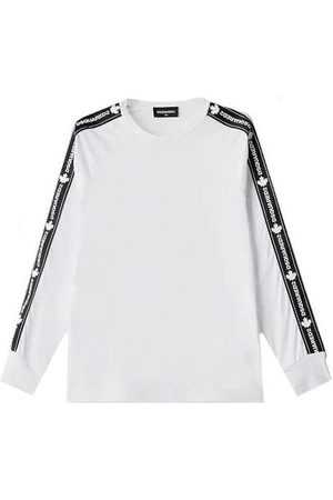 Dsquared2 Boys Long Sleeve - Long Sleeve Tape T-Shirt , / 10 YEARS