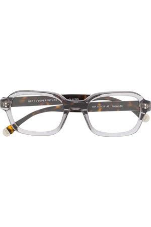 Retrosuperfuture Sunglasses - Contrast square glasses