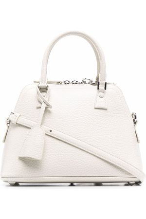 Maison Margiela Women Handbags - Structured leather tote - Neutrals
