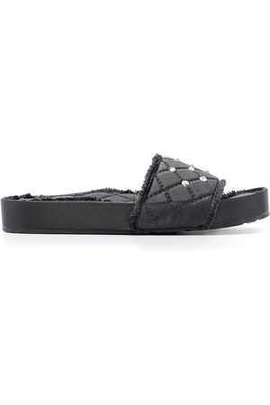 Pedro Garcia Women Sandals - Padded quilted sliders