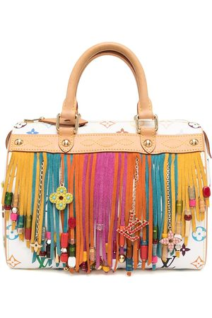 LOUIS VUITTON 2006 pre-owned fringed Speedy tote bag
