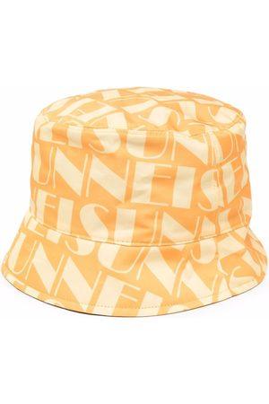 Sunnei Logo-print reversible bucket hat
